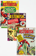 Silver Age (1956-1969):Superhero, Tales to Astonish #53-56 and 101 Group (Marvel, 1964-68)....(Total: 5 Comic Books)