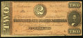 Confederate Notes:1864 Issues, T70 $2 1864 PF-1 Cr. 569 Fine.. ...