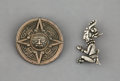 Jewelry:Brooches/Pins, Two Bernice Goodspeed and Los Castillo Mexican Silver Brooches. Marks: (Los Castillo cipher), LOS CASTILLO, TAXCO, MADE IN... (Total: 2 Items)