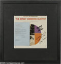 """Music Memorabilia:Autographs and Signed Items, Benny Goodman Signed """"Made In Japan"""" LP Capitol T-2282 (1964).Signed copy of the jazz bandleader's 1964 live album, matted ..."""