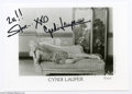 Music Memorabilia:Autographs and Signed Items, Cyndi Lauper Signed Photograph. One of the biggest stars of theearly MTV era, Cyndi Lauper sold five million copies of her ...