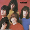"Music Memorabilia:Autographs and Signed Items, Ramones Signed ""End of the Century"" LP Sire SRK-6077 Stereo (1980).The Ramones desired mainstream success and had a deep lo..."