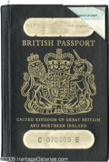 Music Memorabilia:Autographs and Signed Items, Noel Redding Passport. A cancelled British passport owned and usedby late Jimi Hendrix Experience bassist Noel Redding in t...