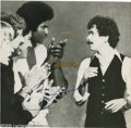 "Music Memorabilia:Autographs and Signed Items, Santana Signed ""Inner Secrets"" LP Columbia 35600 Stereo (1978).Genre-bending rock outfit Santana scored three chart singles..."