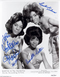 Music Memorabilia:Autographs and Signed Items, Martha & the Vandellas Signed Publicity Still. Martha & theVandellas defined the distaff side of the Motown sound of the 19...