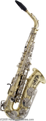 Bill Clinton's Fleetwood Mac Signed Saxophone. An avid saxophone player (and collector), when former-president Bill Clin...