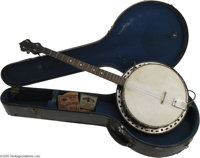 Buddy Holly Banjo and Personal Items. Buddy Holly achieved a profound impact on popular music and obtained legendary sta...