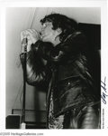 "Music Memorabilia:Photos, Jim Morrison Unpublished Photo (Don Aters). Photographer Don Atersmade only 500 of these limited, black and white 8"" x 10"" ..."