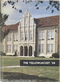 "Music Memorabilia:Miscellaneous, Janis Joplin Unsigned High School Yearbook. This copy of the 1958Thomas Jefferson High School Yearbook, ""The Yellowjacket,""..."