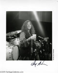 Music Memorabilia:Photos, Janis Joplin Unpublished Photos Group of 2 (Don Aters). Here aretwo unpublished photos featuring the amazing Janis Joplin p...