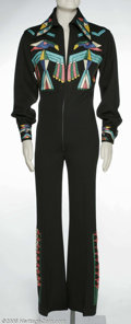 Music Memorabilia:Costumes, Glen Campbell Jumpsuit. Glen Campbell, a true country legend, began his career as one of the finest studio guitar players in... (3 Items)