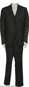 Music Memorabilia:Costumes, Johnny Cash Suit Designed by Great Western Tailoring....
