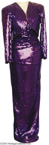 Music Memorabilia:Costumes, Barbara Mandrell Gown designed by Lillie Rubin (on mannequin)....