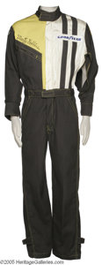 Music Memorabilia:Costumes, Marty Robbins Racing Outfit (Jumpsuit)...