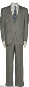 Music Memorabilia:Costumes, Carl Smith Two-Piece Suit Designed by Nudie. During the 1950s, CarlSmith was one of country music's most prolific hit-maker...