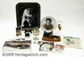 Music Memorabilia:Miscellaneous, Miscellaneous Elvis Memorabilia Pieces. This is an interesting andesoteric grouping of Elvis Presley collectibles and knick... (18Items)