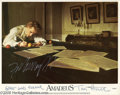 "Memorabilia:Miscellaneous, F. Murray Abraham and Tom Hulce Signed Lobby Card. From Milos Forman's 1984 drama ""Amadeus,"" roles that landed Abraham an Os..."