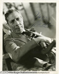 Hollywood Memorabilia:Autographs and Signed Items, George Arliss Signed Photograph. One of the oldest actors on thescreen in the 1920s and '30s, George Arliss defined his car...