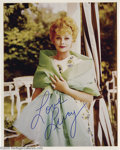 Hollywood Memorabilia:Autographs and Signed Items, Lucille Ball Signed Photograph plus Other Hollywood Female Stars.Featured in this lot is a color photograph of the famous c... (7Items)