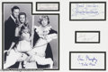 "Hollywood Memorabilia:Autographs and Signed Items, ""Bewitched"" Cast Signature Lot. Signatures samples from co-starsAgnes Moorehead, Elizabeth Montgomery, Dick Sargent, and Er..."