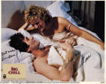 "Memorabilia:Miscellaneous, Glenn Close and Kevin Kline Signed Lobby Card. From the 1982 comedy""the Big Chill."" With COA from PSA/DNA...."