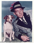 Hollywood Memorabilia:Autographs and Signed Items, Bing Crosby Signed Photograph. Bing Crosby was the 20th century'sfirst multi-media entertainer, a star on radio, in movies ...