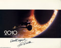 "Memorabilia:Miscellaneous, Keir Dullea Signed Lobby Card. A signed promotional photo for thesci-fi film ""2010"" signed by actor Keir Dullea. . With C..."