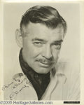 Hollywood Memorabilia:Autographs and Signed Items, Clark Gable Signed Photograph. Clark Gable used a 300-dollarinheritance he received on his 21st birthday to launch a theatr...