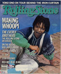 """Hollywood Memorabilia:Autographs and Signed Items, Whoopi Goldberg Signed Magazine Cover. Included in this lot is a """"Rolling Stone"""" cover autographed by comedienne Whoopi Gold..."""
