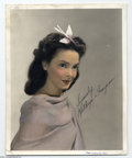"Hollywood Memorabilia:Autographs and Signed Items, Kathryn Grayson Signed Photograph. Kathryn Grayson, thesinger-actress best known for her roles in ""Show Boat"" (1951) and""K..."