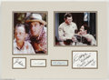 "Hollywood Memorabilia:Autographs and Signed Items, ""Andy Griffith Show"" Signatures. Signature samples from ""AndyGriffith Show"" co-stars Andy Griffith, Don Knotts, Jim Nabors,..."