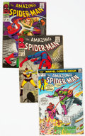 Silver Age (1956-1969):Superhero, The Amazing Spider-Man Group of 21 (Marvel, 1966-73) Condition:Average VG.... (Total: 21 Comic Books)
