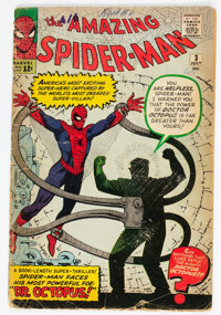 The Amazing Spider-Man #3 (Marvel, 1963) Condition: Incomplete