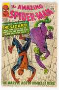 Silver Age (1956-1969):Superhero, The Amazing Spider-Man #6 (Marvel, 1963) Condition: GD+....