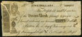 Obsoletes By State:Massachusetts, Boston, MA-Union Bank Counterfeit $5 Feb. 20, 1804 Very Fine.. ...
