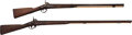 Long Guns:Muzzle loading, Lot of Two U.S. Percussion Muskets.... (Total: 2 Items)