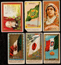 Non-Sport Cards:Lots, 1887-1909 Allen & Ginter and Mogul Cigarettes Collection With Others (80+)....