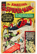Silver Age (1956-1969):Superhero, The Amazing Spider-Man #14 (Marvel, 1964) Condition: FR/GD....