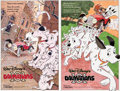 Animation Art:Concept Art, 101 Dalmatians Poster Concept Art Group of 2 (Walt Disney,1985).... (Total: 2 Original Art)