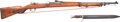 Long Guns:Bolt Action, Amberg 1916 Bolt Action Rifle with Bayonet....
