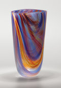 Art Glass:Other , A Large Murano-Style Glass Vase, 20th century. 15-1/2 inches (39.4cm). ...