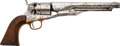 Handguns:Single Action Revolver, Colt 1860 Army Model Single Action Revolver....