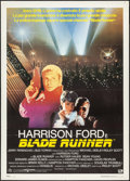 "Movie Posters:Science Fiction, Blade Runner (Warner Brothers, 1982). Italian 2 - Fogli (39.25"" X55""). Science Fiction.. ..."