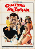 "Movie Posters:Comedy, Doctor in the House (Republic, 1973). Italian 2 - Fogli (39"" X 55"")Antonio Mos Artwork. Comedy.. ..."