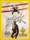 """Movie Posters:Hitchcock, North by Northwest (MGM, R-1970s). French Grande (47"""" X 63"""").Hitchcock.. ..."""