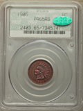 Proof Indian Cents, 1905 1C PR65 Red and Brown PCGS. CAC. Housed in a doily label holder. PCGS Population: (55/38). NGC Census: (53/23). PR65. ...