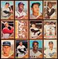 Baseball Cards:Lots, 1962 Topps Baseball Collection (264) Plus Ten 5-Cent Wrappers....