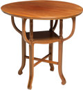 Furniture , A French Inlaid Mahogany Side Table, late 19th-early 20th century. 25-1/2 x 27 inches (64.8 x 68.6 cm). ...