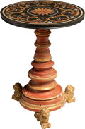 Furniture , An Italian Carved and Paint-Decorated Side Table, early 20th century. 31-1/2 x 23-3/4 inches (80.0 x 60.3 cm). ...