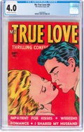 Golden Age (1938-1955):Romance, My True Love #66 (Fox Features Syndicate, 1949) CGC VG 4.0Off-white to white pages....